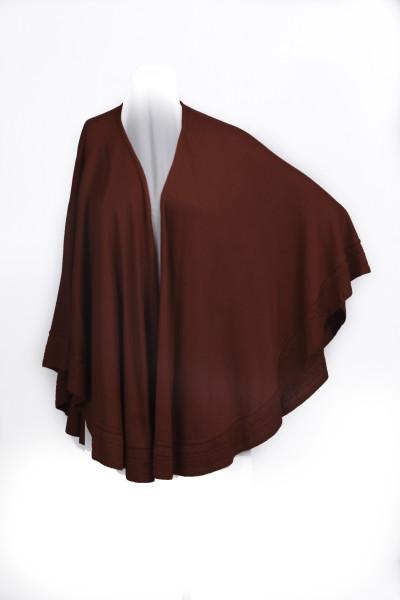 Carmen - women's knitted wrap cape shawl