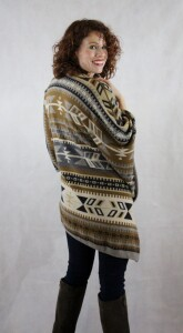 The Mesa - Women's knitted southwest cape