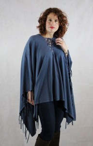 The Lauren Fringed Poncho